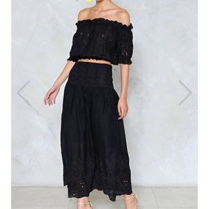 Nasty Gal To the Thread Top & Skirt Set